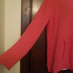 Eileen Fisher Sweaters - Eileen Fisher Pumpkin Spice Hooded Sweater